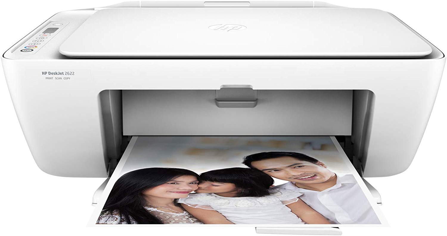 HP DeskJet 2622 All-in-One Wireless Colour Inkjet Printer cum scanner (White) with Voice-Activated Printing (Works with Alexa and Google Assistant)